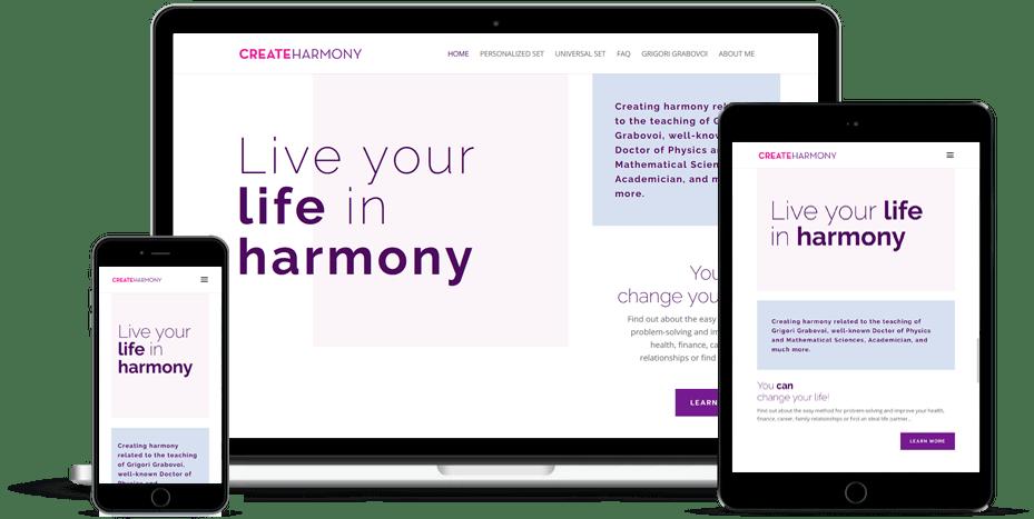 Create Harmony in Life